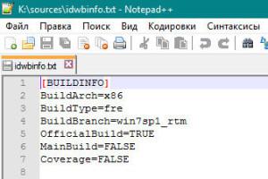 Содержимое файла idwbinfo.txt