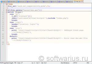 Разворачивание функции в Notepad++