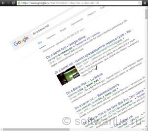 do a barrel roll google 004